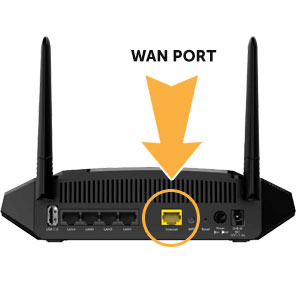 Disconnect Router