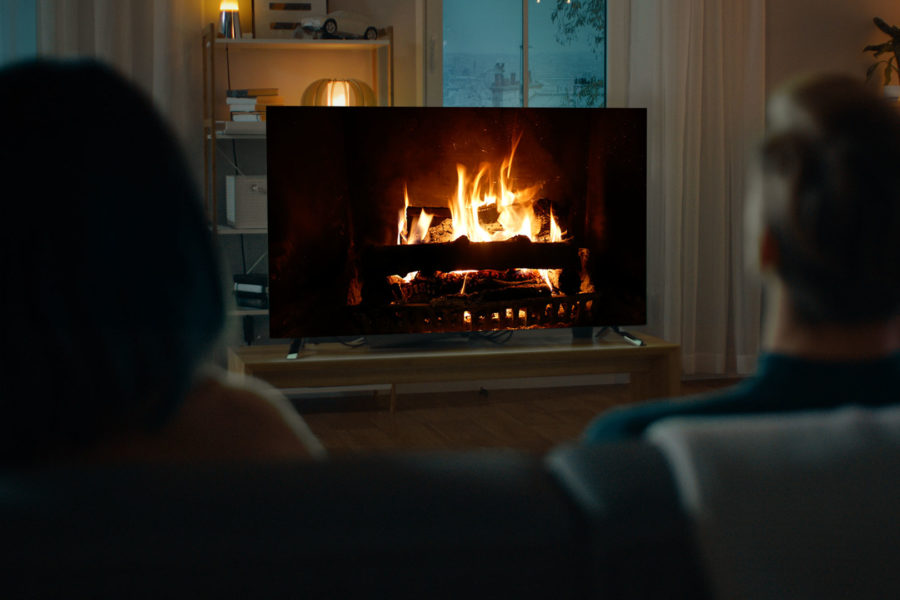 The Holiday Fireplace App