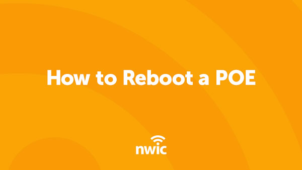 How to Reboot a POE