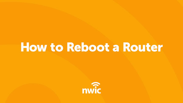 How to Reboot a Router